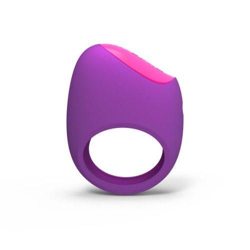 Picobong - Remoji Lifeguard Ring Vibe Vibrációs Péniszgyűrű Lila