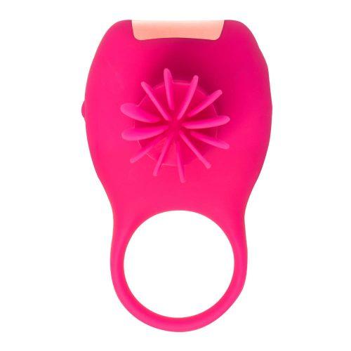 Tokyo Design - Glamfit Forgó Péniszgyűrű Cseresznyepiros